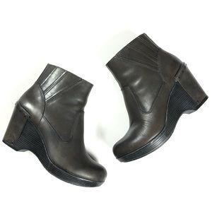 Dansko Faith Wedge Ankle Boot